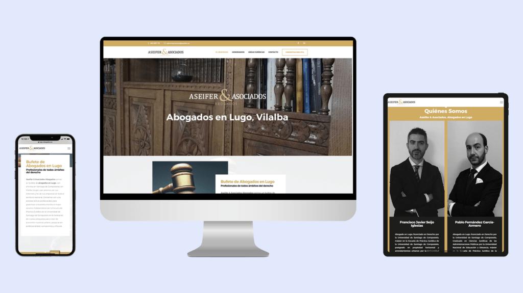 Diseño web Aseifer & Asociados